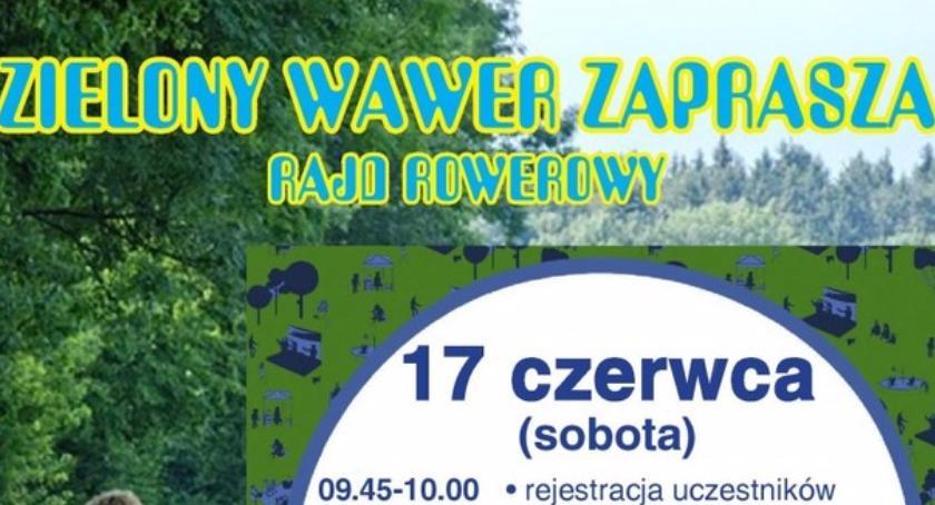 """Rower, rowerowy """"Zielony Wawer"""" - zdjęcie, fotografia"""