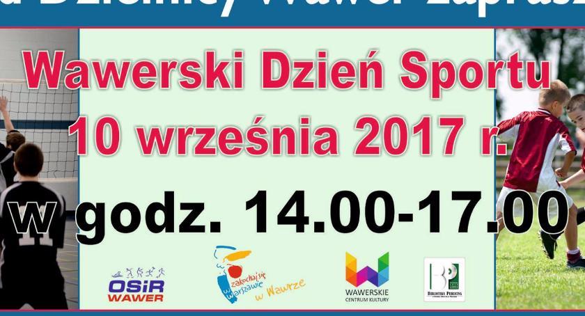 Imprezy, Piknik Rodzinny Wawerski Dzień Sportu - zdjęcie, fotografia