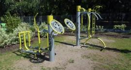 Nowe siłownie plenerowe w Wawrze